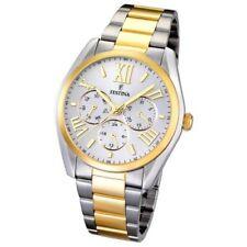Relojes de pulsera baterías de oro amarillo para hombre