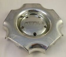 Fittipaldi Wheel Chrome Custom Wheel Center Cap Caps (1) # M584 / M585