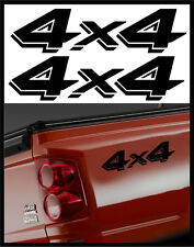 4X4 OFROAD DECAL STICKERS - DODGE DAKOTA TRUCK STICKER DECALS 2-PACK SIZE: 4X16