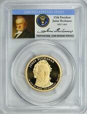 2010-S JAMES BUCHANAN PCGS PR69DCAM *SIGNATURE SERIES*