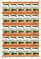 1940 NORD/SNCF Class 232R/232S France Train 50-Stamp Sheet / LOCO 100 LOTW