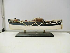 Model Lifeboat Wooden Model