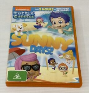 Bubble Guppies Sunny Days! DVD Nickelodeon 6 Episodes