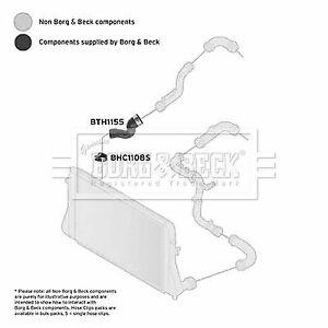 CAPSautomotive Charger Air Hose for Volkswagen 3C0145834 3C0145834M 3C0145834G 3