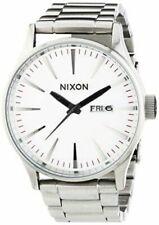 Nixon A356 130 Sentry SS Herrenuhr Silver