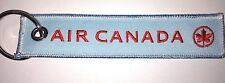 AIR CANADA Remove Before Flight keychain baggage tag quality embroidered