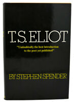 Stephen Spender T. S. ELIOT  1st Edition 2nd Printing