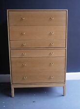 Vintage 1960s Stag Oak chest of drawers