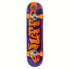 "Enuff Mini Graffiti II Mini Factory Complete Skateboard Orange 7.25"""