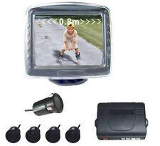 Zs- Kit retromarcia monitor 3,5 e sensori di parcheggio con telecamera CON LCD C