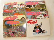GILES: Sunday & Daily Express Cartoon books Series 39 - 47 (Separate offerings).