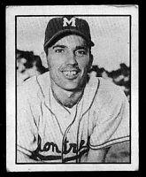 Forrest V. Jacobs 1952 Frostade Baseball Card #54 from International League