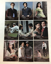 VAMPIRE DIARIES SEASON 1 (2011) Complete FOIL Chase Card Set of 9 (#F01-F09)