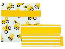 NEW Sachi Lunch Pockets Set - SANDWICH & SNACK - Reusable Lunch Bags - Trucks
