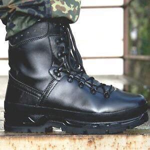NEU BUNDESWEHR BERGSTIEFEL BW BERGSCHUHE OUTDOOR STIEFEL ARMEE SCHUHE NATO LEDER