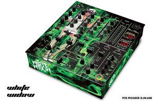 Pelle Decal Avvolgere per Pioneer DJM-600 Dj Mixer CD Audio Pro DJM600 Bianca