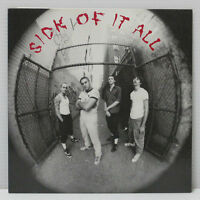 "SICK OF IT ALL - S/T 7"" EP 1997 REV: 3 AGNOSTIC MADBALL PUNK HARDCORE w/ insert"