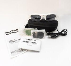 NEW - I-Kam Xtreme 3.0 Video Camera Camcorder Spy Glasses Sunglasses Eyewear