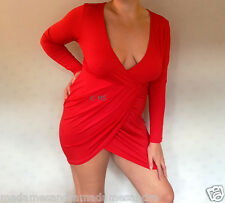 SEXY DRESS COCKTAIL CLUBWEAR REVEALING 14 16 18 20 PLUS SIZE WOMAN BIG SIZE