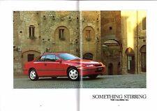 Vauxhall CALIFORNIA 1993-1994 Regno Unito delle vendite sul mercato opuscolo 2.0 i 16V 2.5 V6 Turbo 4x4