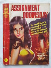 MARTIN THOMAS.ASSIGNMENT DOOMSDAY.1961 MAGAZINE BOOK.SEXTON BLAKE NO 485,ILLS