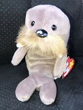 Beanie Baby Plush Original Jolly Walrus Style 1996 Tag Attached Pe Pellets
