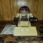 Vintage Tomy Omnibot 5402 RX Robot (Needs Battery & Remote) With Tray and Manual
