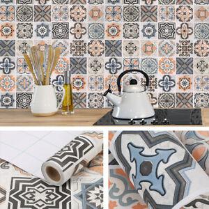 61x500cm Fliesenaufkleber Mosaikfliese Klebefolie Fliesenfolie für Küche und Bad