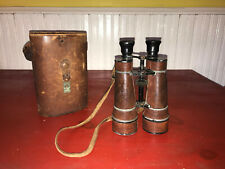 Wwi Era Busche Terlux Field Binoculars with Case
