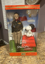 """2001 Barbie Snoopy """"Flying Ace"""" Collectors Doll"""
