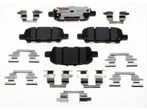 For 2013 Infiniti JX35 Brake Pad Set Rear Raybestos 88324WT