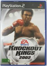 Knockout Kings 2002 Jeu Sony Playstation 2 PS2 PAL Fr Complet