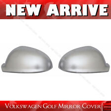for VW Volkswagen Golf MK5 V Jetta 05-10 Chrome Aluminum Door Mirror Cover Cap