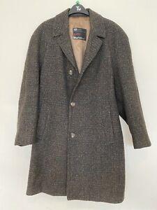 MARLSBRO Weathercoat All Wool - Made In England - Gents Brown Coat