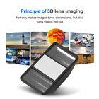 3D Lens Mini Stereoscopic Camera Universal External For Phone Tablet Black JS