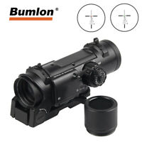 Tactical 1x-4x Fixed Dual Role Optic Rifle Scope Quick Detachable for Airsoft