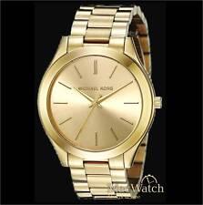 Michael Kors Damen Uhr Slim Runway MK3179 Edelstahl, goldfarben NEU OVP