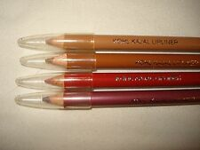 Lot of 4 Jordana Kohl Kajal Lip Liner Pencil Cherry Honey Red New  Set Sexy