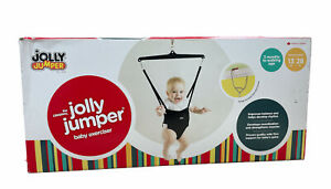 Jolly Jumper The Original Baby Exerciser with Super Stand Active Babies Black