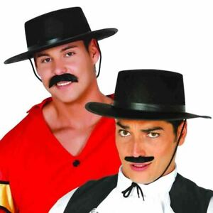 Black Felt Spanish Flamenco Matador Senor Adult Hat