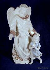 "So Beautiful!! Lenox SHELTERING ANGEL 9 1/2"" Tall Figurine Angel & Child"