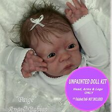 Doll kit ~ Reborn doll kit paige~ ready to paint and make your own reborn baby