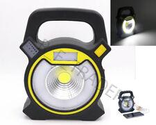Micro USB SENZA FILI RICARICABILE COB LED Luce Torcia Lampada Garage lampeggiante di avvertimento