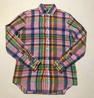POLO Ralph Lauren linen long sleeve shirt S