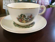 Harker Pottery Co.   Colonial Courting Couple