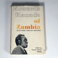 KENNETH KAUNDA RARE SIGNED book Selected Writings 1965 autograph ZAMBIA Rhodesia