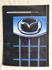 Mazda USA - 1998 Millenia Miata Protegé MPV Trucks - US-Prospekt Brochure 1997