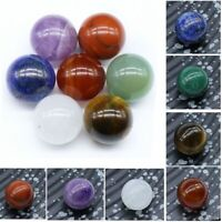 7PCS Chakra Stones Palm Natural Stone Reiki Healing Crystals Gemstones Decor Set