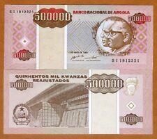 Angola, 500,000 (500000) Kwanzas Reajustados, 1995, P-140, UNC