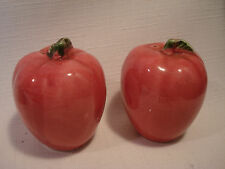 Vintage....Ceramic.....Apples....Salt & Pepper Shakers....Japan